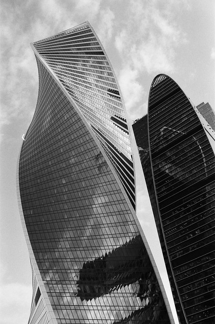 Moscow City. Evolution Tower