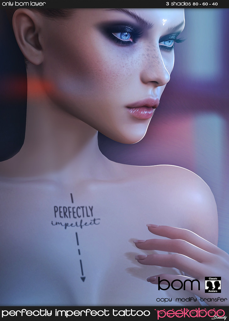 Perfectly Imperfect Tattoo AD