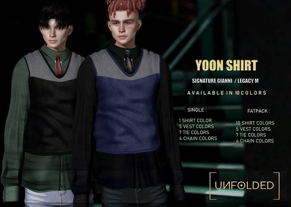 UNFOLDED X Yoon Shirt