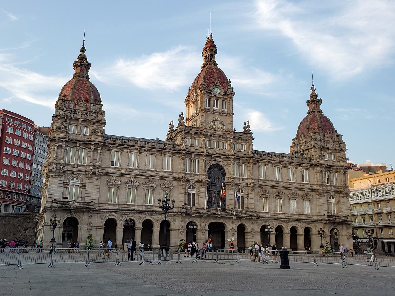 La Coruna Plaza de Maria Pita
