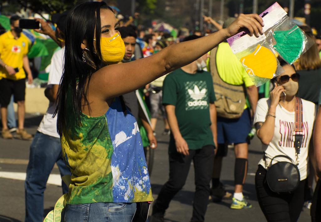 Manifestação de 7 de setembro de 2021 na Avenida Paulista