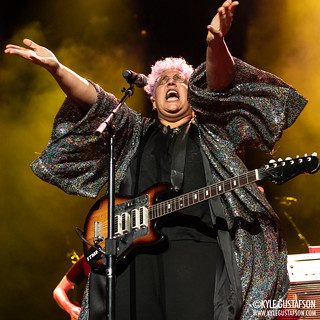 Brittany Howard performs at Merriweather Post Pavilion in Columbia, MD.