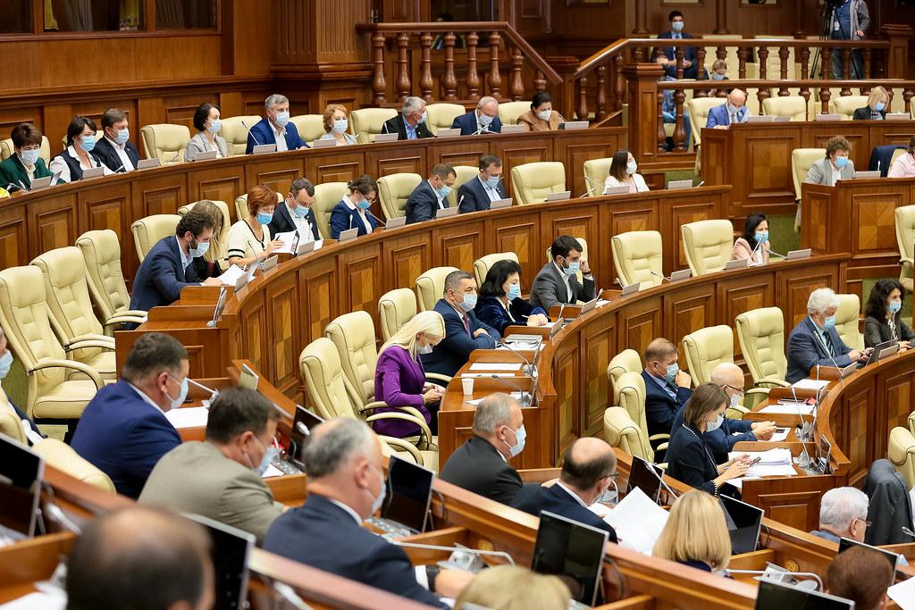 09.09.2021 Ședința plenară a Parlamentului Republicii Moldova