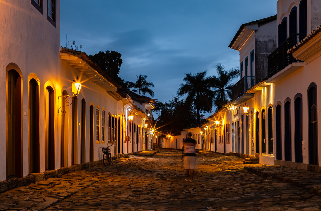 Crepúsculo em Paraty - Rio de Janeiro