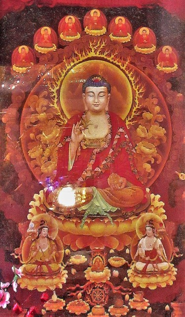 Singapore - Leong San See Temple Mural, Little India