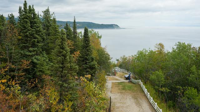 Centre d'interprétation et observation, Baie St-Catherine, PQ, Canada - 07129