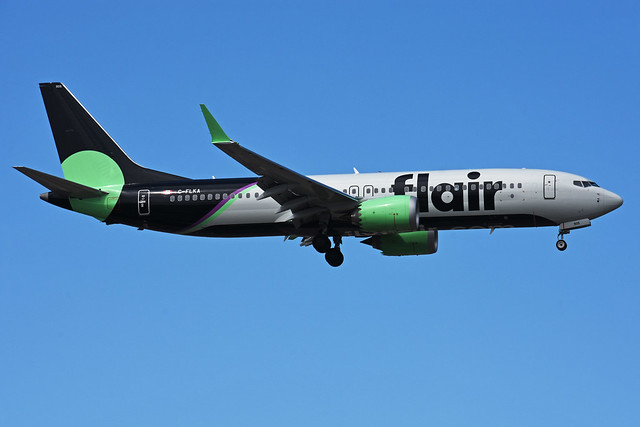 C-FLKA (Flair Airlines)