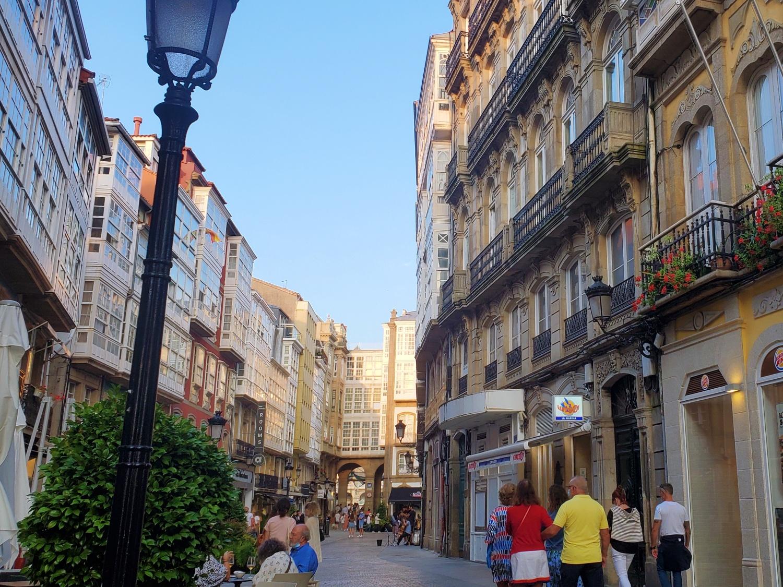 La Coruna street