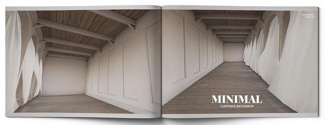 MINIMAL - Curtains Backdrop