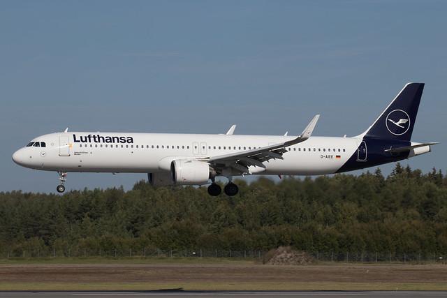 Lufthansa Airbus A321-271NX D-AIEE 210909 ARN