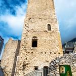 Pacentro (AQ), 2021, Il Castello Caldora Cantelmo.
