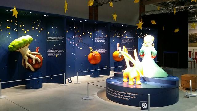 Toulouse expo Saint Exupéry à l'Envol des pionniers