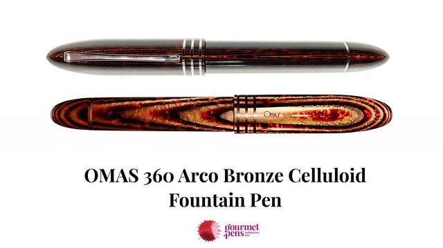 OMAS 360 Arco Bronze Celluloid Fountain Pen