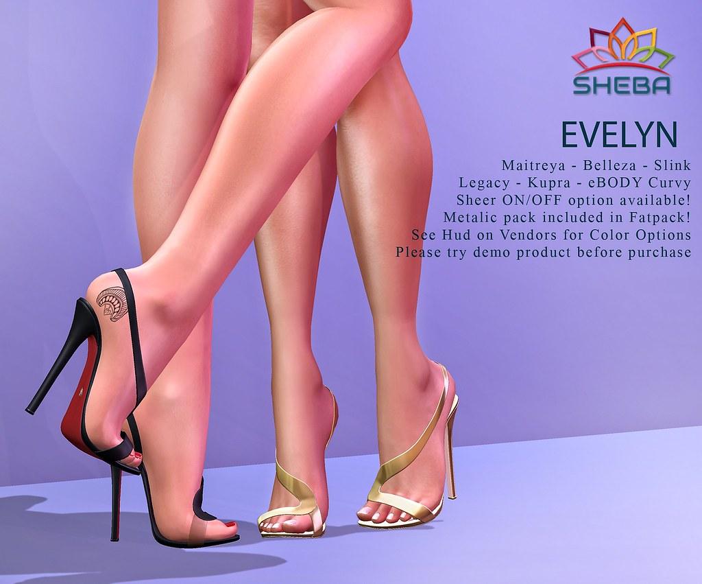 [Sheba] Evelyn Heels
