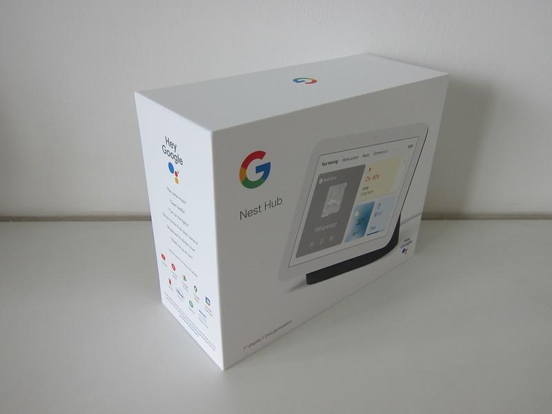 Google Nest Hub (2nd Gen) - Box
