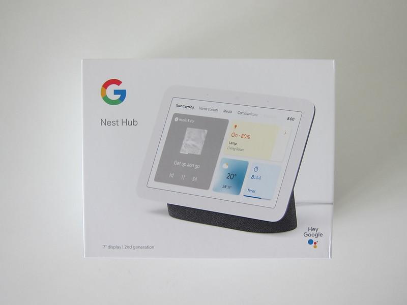 Google Nest Hub (2nd Gen) - Box Front