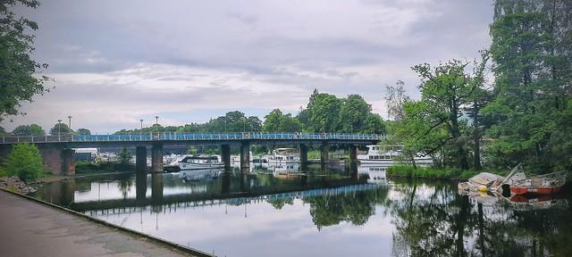 Balloch Bridge over the River Leven