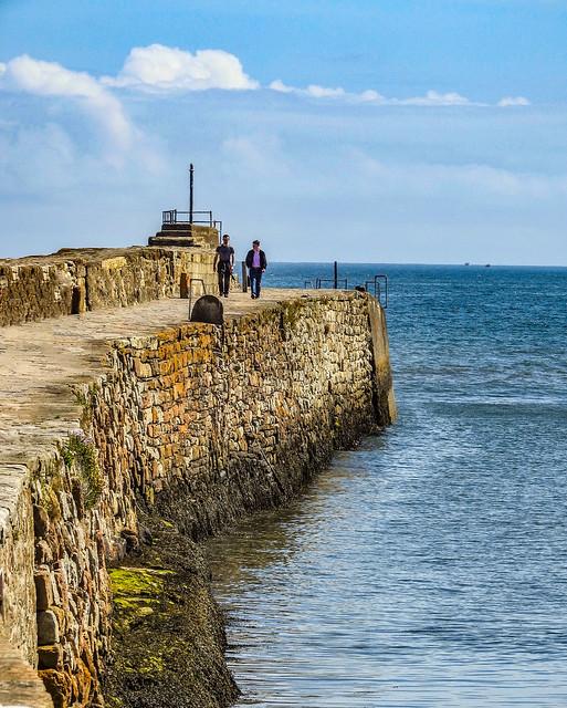 Breakwater at St Andrews Harbour