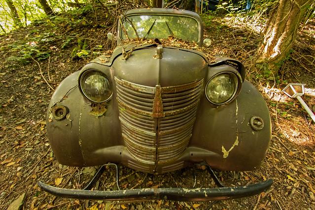 Front Opel Kadett / Vorkriegszeit (1936 ?)