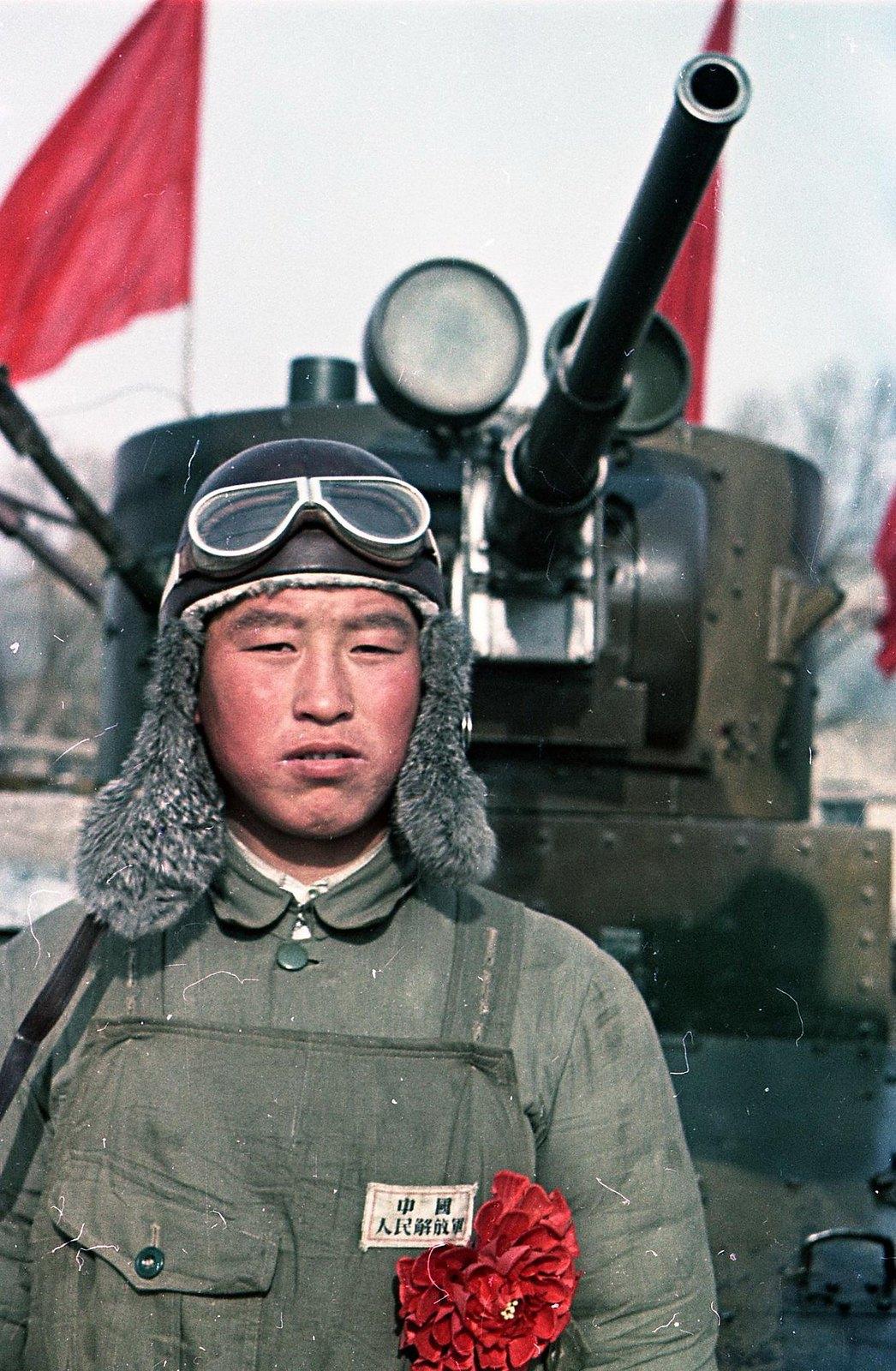 Танкист Народно-освободительной армии Китая