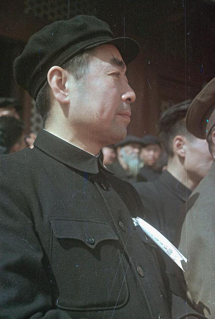 Премьер Государственного административного совета и министр иностранных дел Китайской Народной Республики Джоу Эньлай