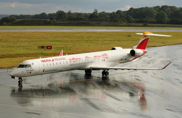 EC-MRI Bombardier CRJ-1000 Iberia Regional