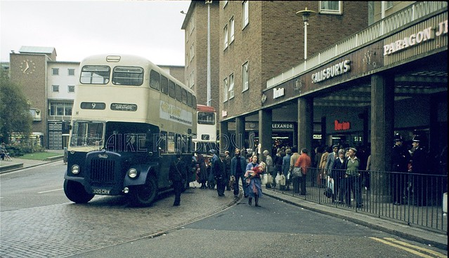 WMPTE 320Y Broadgate, Coventry, 1975