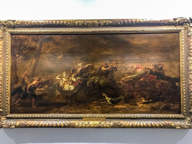 A painting by Rubens
