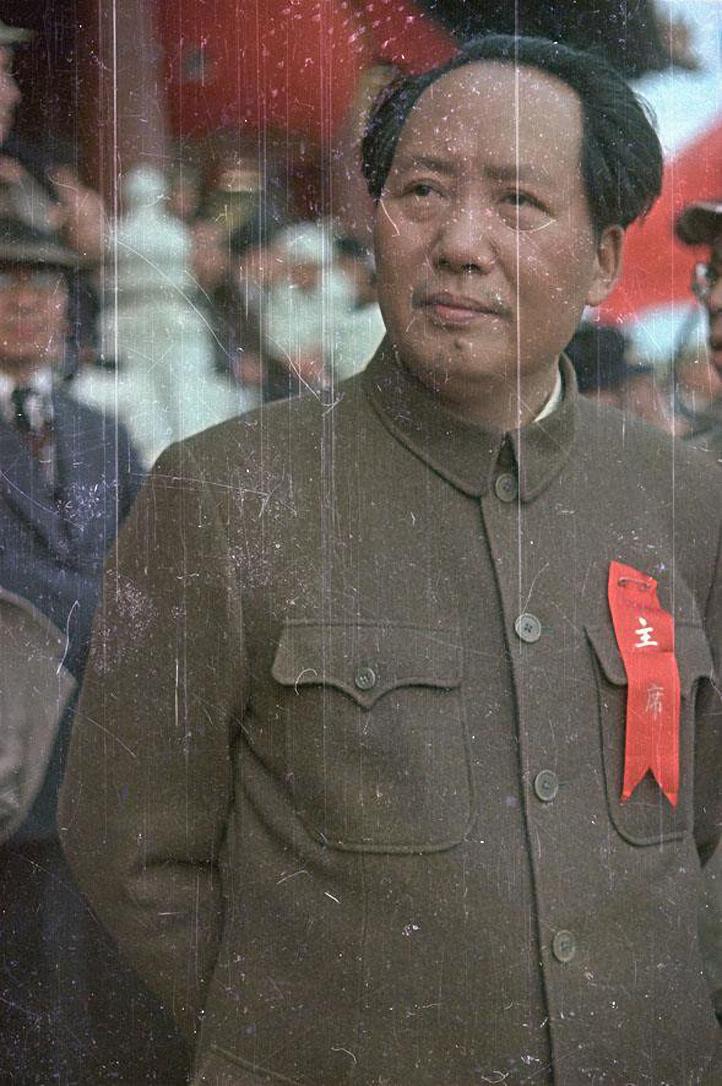 Председатель ЦК Коммунистической партии Китая Мао Цзэдун