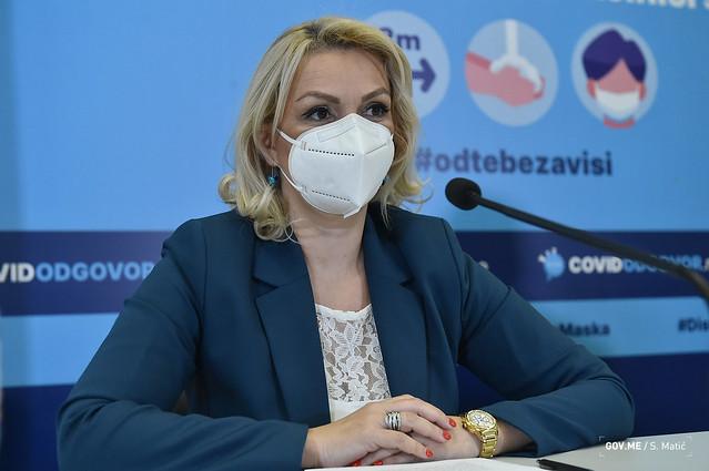 Konferencija za medije povodom predstavljanja novih epidemioloških mjera (10.09.2021.)
