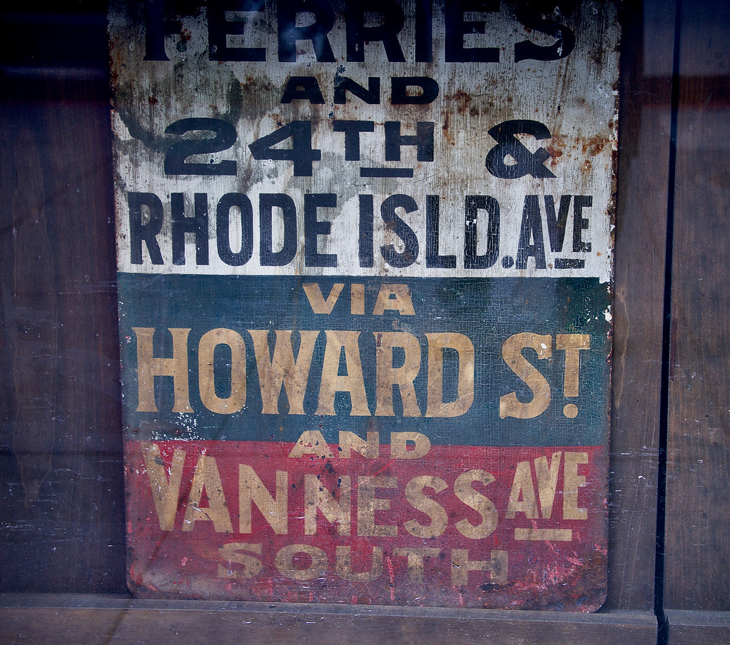 Historic San Francisco Sign