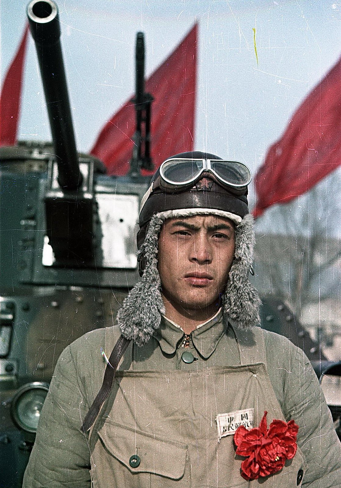 Танкист Народно-освободительной армии Китая (1)