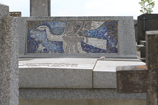 La tombre de Georges Braque au cimetière de Varengeville-sur-Mer