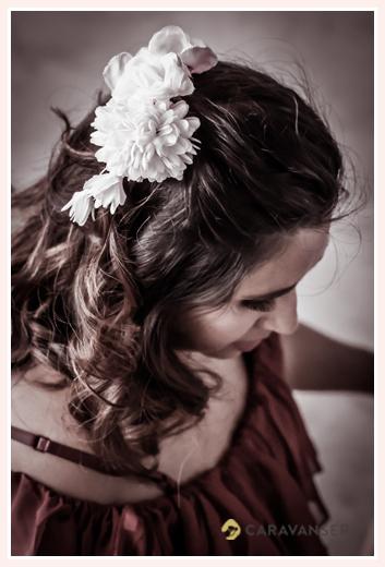maternity photo, corsage
