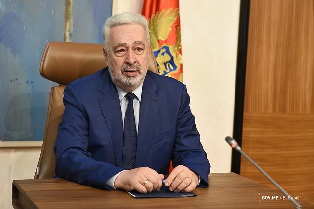 Zdravko Krivokapić - predstavnici EBRD-a (10.09.2021.)