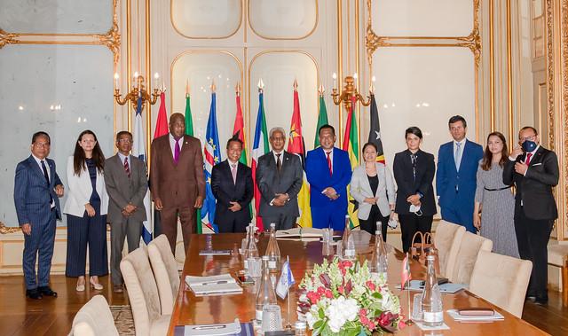 21.09. Secretário Executivo recebe Presidente do Parlamento Nacional de Timor-Leste