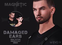 Magnetic - Damaged Ears