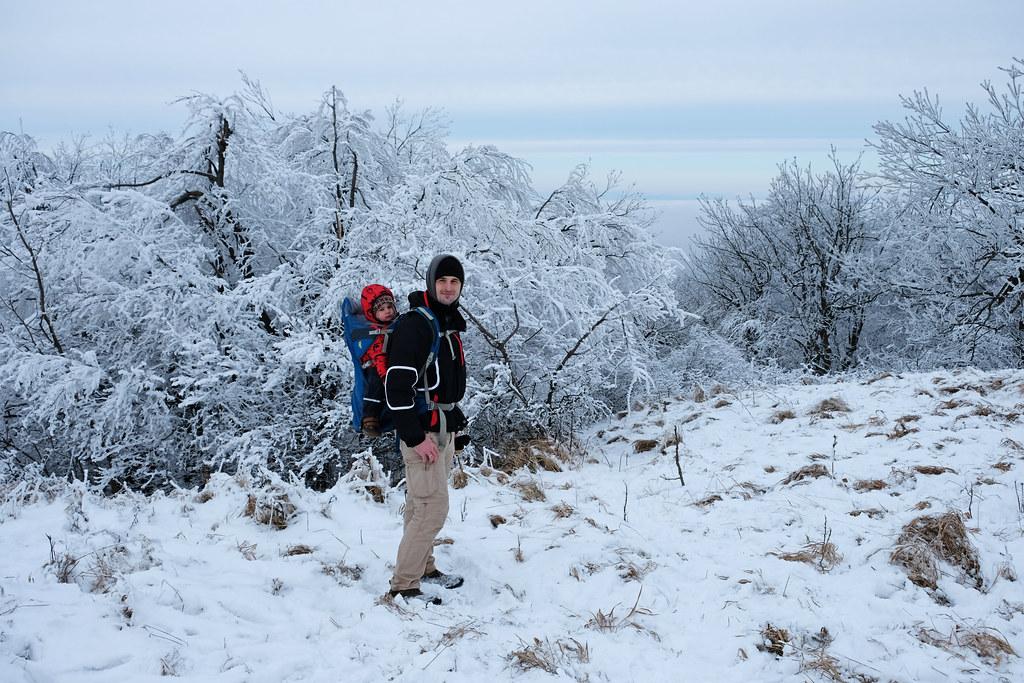 Winter in Börzsöny Mountains, Hungary