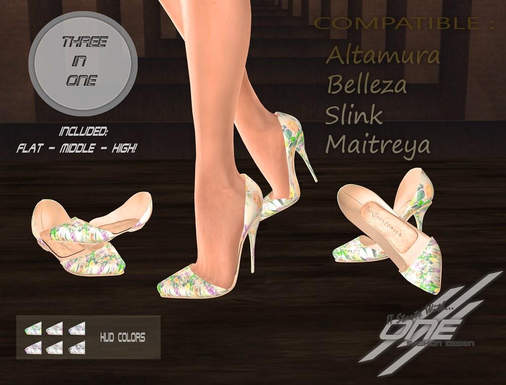 ONE-JOYCE heels (Special Edition)