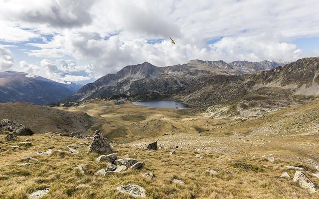 Sobrevolando Montmalús, Andorra