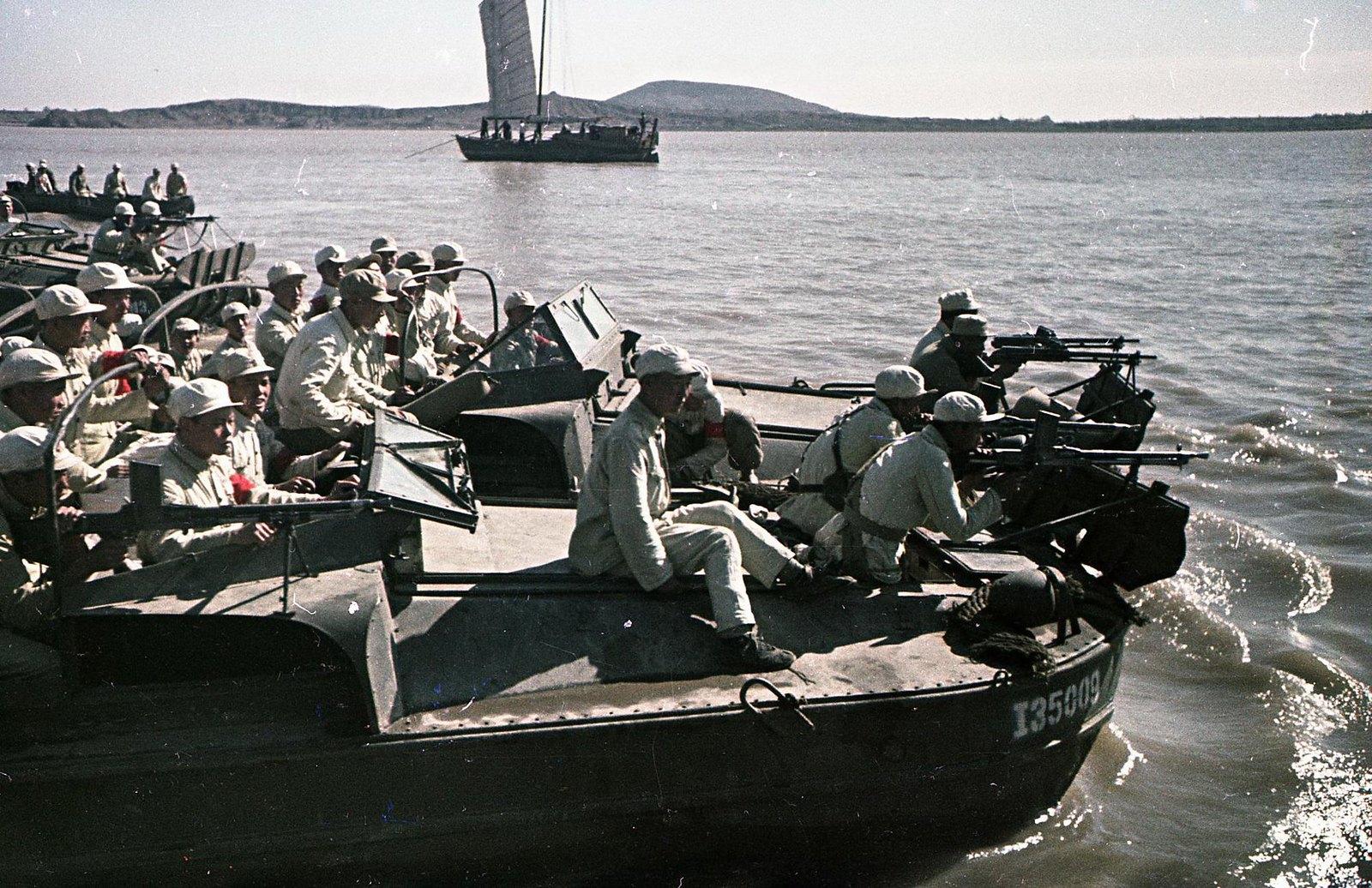Река Янцзы. Подготовка к десантированию