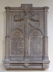 WWI memorial (Munro Cautley?)