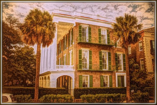 Charleston  -  South Carolina - 9 East Battery - Robert William Roper House