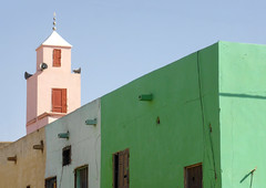 Happy Friday ! / Colourful mosque in Nouakchott, capital city of Mauritania