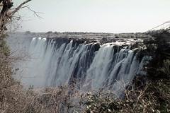 ZW Victoria Falls eastern cataract - 1965 (W65-A72-08)