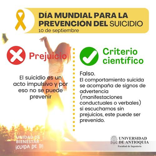Campaña contra el suicidio