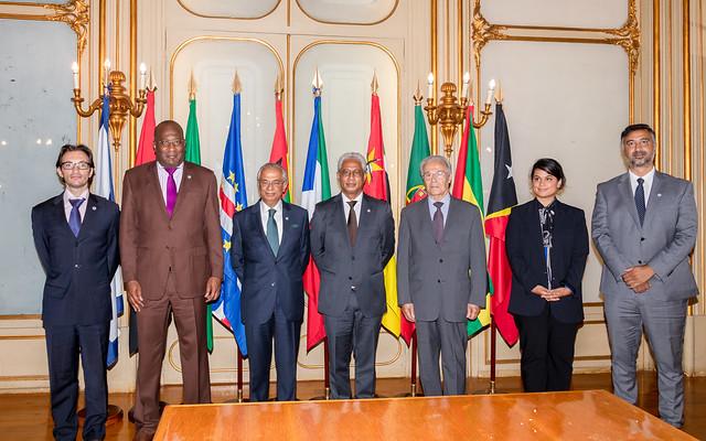 21.09. Secretário Executivo recebe Representante Diplomático da Delegação do Imamat Ismaili
