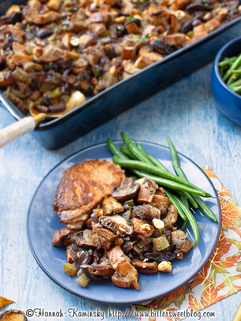 Browned Butter Mushroom Stuffing 5