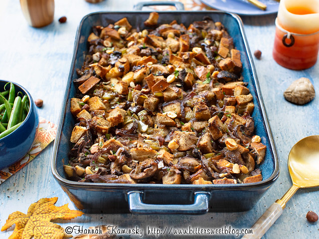Browned Butter Mushroom Stuffing 2