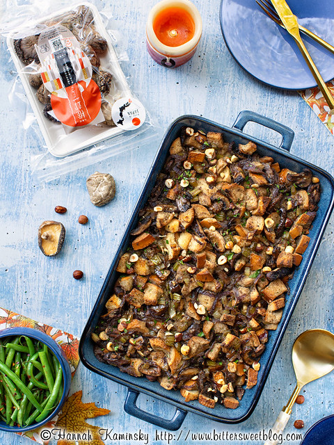 Browned Butter Mushroom Stuffing 1